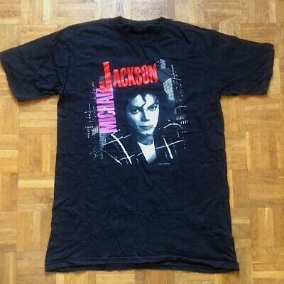 Michael Jackson 1988 Bad Tour T-Shirt Unworn Bought At Wembley Concert • 60£