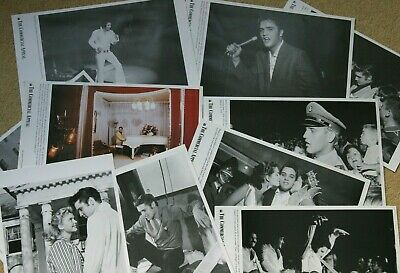 Ten Elvis Photos From The Commercial Appeal   Collector Series 2002 33cm X 21cm • 12£