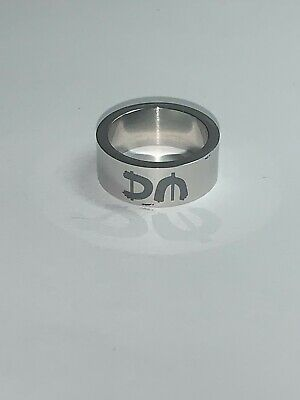 Depeche Mode Ring Small, Color-silver With Black Lettering. Pre-owned • 25£