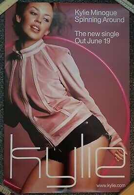 Kylie Minogue Spinning Around Promo Poster 2000 • 14.99£