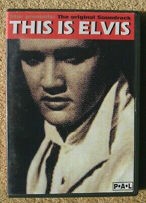 Elvis  This Is Elvis Soundtrack DVD By STAR.  • 5£