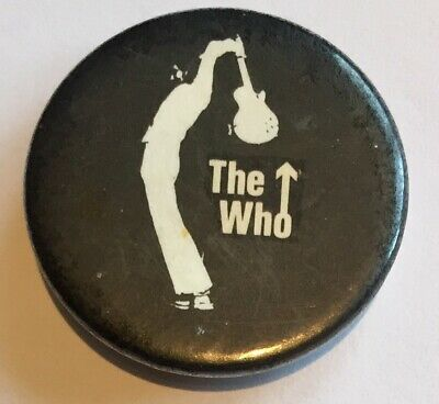The Who Badge Original Issue Music Band Badge • 1.65£