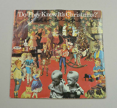 Sir Peter Blake Signed Band Aid 1984 Do They Know Its Christmas? Autograph Vinyl • 99.99£