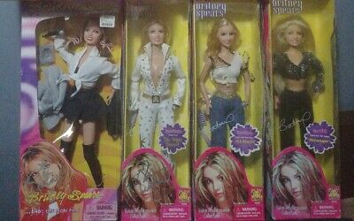 Britney Spears Doll Collection Autographed (Been Away For A While! I'm Back!) • 357.63£