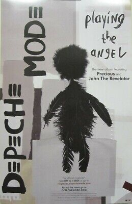 DEPECHE MODE 2005 Playing The Angel Promotional Poster Flawless NEW Old Stock • 7.15£