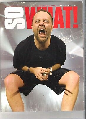 So What! Metallica Fanclub Magazine Vol 10 Number 4 2004 • 9.99£