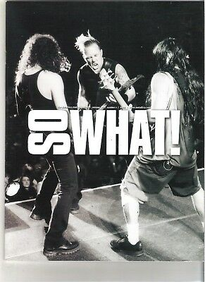 So What! Metallica Fanclub Magazine Vol 12 Number 1 2005 • 9.99£