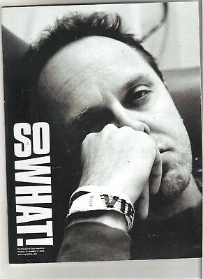 So What! Metallica Fanclub Magazine Vol 12 Number 3 2005 • 9.99£