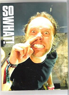 So What! Metallica Fanclub Magazine Vol 14 Number 3 2007 • 9.99£