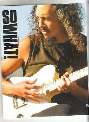 So What! Metallica Fanclub Magazine Vol 15 Number 2 2008 • 9.99£