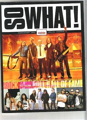 So What! Metallica Fanclub Magazine Vol 16 Number 2 2009 • 9.99£