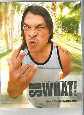 So What! Metallica Fanclub Magazine Vol 18 Number 2  2011 • 9.99£