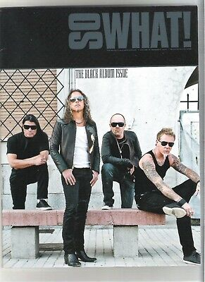 So What! Metallica Fanclub Magazine Vol 19 Number 2 The Black Album Issue 2012 • 9.99£