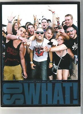 So What! Metallica Fanclub Magazine Vol 19 Number 3 2012 • 9.99£