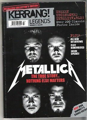 Metallica Kerrang Legends Collectors Edition • 11.99£