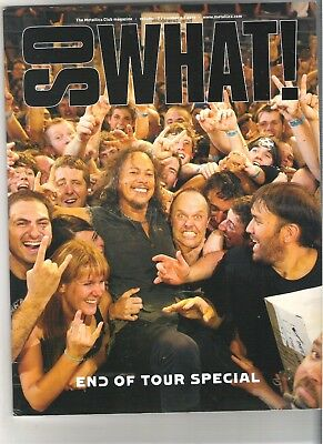So What! Metallica Fanclub Magazine Vol 17 Number 4 2010 • 9.99£
