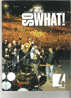 So What! Metallica Fanclub Magazine Vol 17 Number 3 2010 • 9.99£