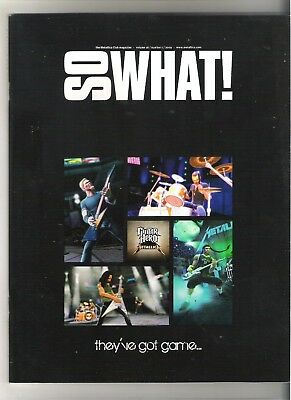 So What! Metallica Fanclub Magazine Vol 16 Number 1 2009 • 9.99£