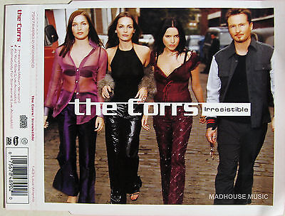 The CORRS Irresistible UK PROMO SLEEVE (no CD) • 1.50£