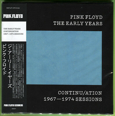 Pink Floyd THE EARLY YEARS. CONTINU/ATION 1967-1974 BBC SESSIONS CD Mini-LP Mint • 14.41£