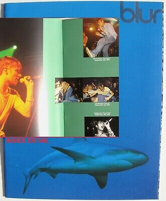 BLUR BOOK Tour Programme 1995 NEW Great Escape Tour 24 Pg + Fold-out Cover • 14.95£