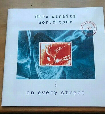 Dire Straits World Tour - On Every Street 1991/92 - With Original Ticket    • 25£