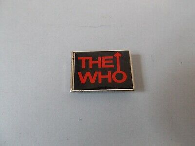 The Who Badge Original From The 1970s • 12.95£