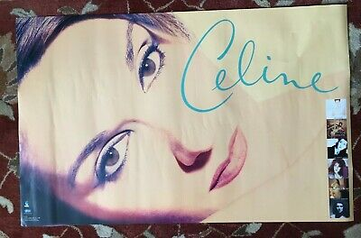CELINE DION  Falling Into You  Rare Original 2-sided Promotional Poster • 18.51£