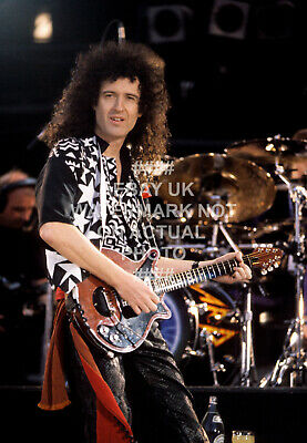 1992 Brian May Queen Photo Choose Print Size Music • 5.99£