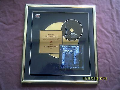 Elbow-asleep In The Back Official Gold Presentation Award  • 114.99£
