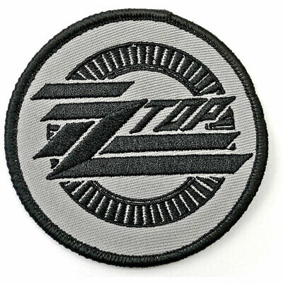ZZ Top Circle Logo Embroidered Iron On Patch Official Licensed Band Merch • 3.99£