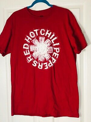Mens Red Size Large  Red Hot Chili Peppers  Tee Shirt  • 15.95£