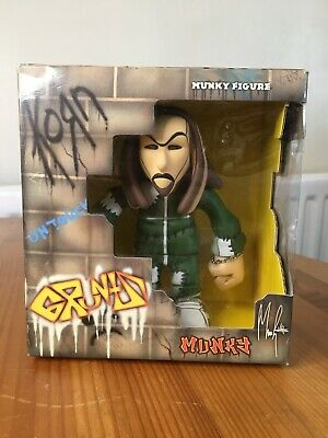 Korn Gruntz James Shaffer Munky Figure. In Box. From 2002. Damaged Unopened Box • 24.99£