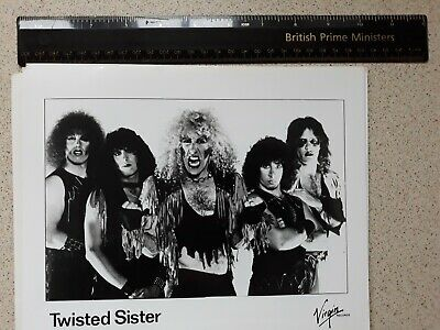 Twisted Sister Promotional Photograph 1980s • 3.99£