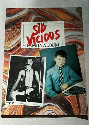 Good Condition Sid Vicious Family Album Book Punk Rock Sex Pistols Never Mind • 29.99£