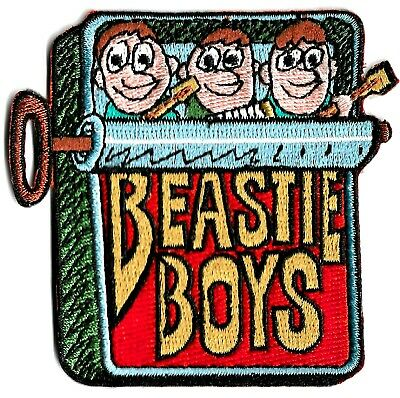 Beastie Boys - In Sardine Can Patch [Embroidered Iron On Or Sew On] Logo Symbol • 8.88£