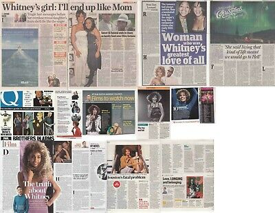 WHITNEY HOUSTON : CUTTINGS COLLECTION - Magazine Articles • 4.60£