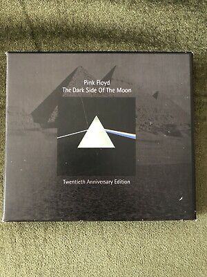 Pink Floyd Dark Side Of The Moon 20th Anniversary CD Set. Complete & VGC • 30£