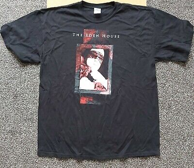 THE EDEN HOUSE - Official T-Shirt - XL (Nephilim, Mission, All About Eve, Goth) • 10£