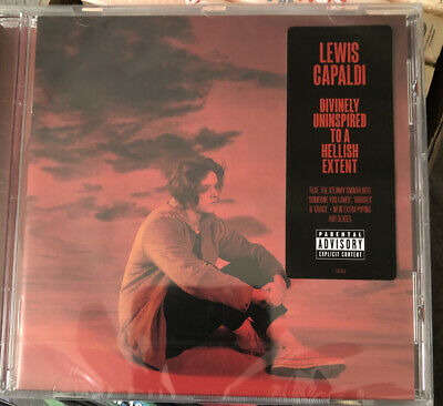 Lewis Capaldi - Divinely Uninspired To A Hellish Extent New Sealed Cd • 4.50£