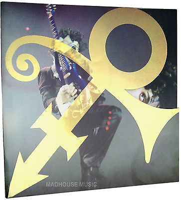 PRINCE ACT 2 Tour PROGRAMME UK Rare Glossy 30 Page Stunning ! SHAPED ! W/ Cards • 39.95£