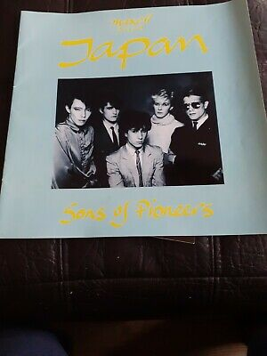 Maxell Presents Japan  Sons Of Pioneers  1982  Tour Programme • 20£