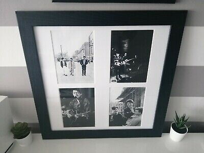 Stunning Blue Nile Collage Photo Collection In Black Frame  • 29.99£