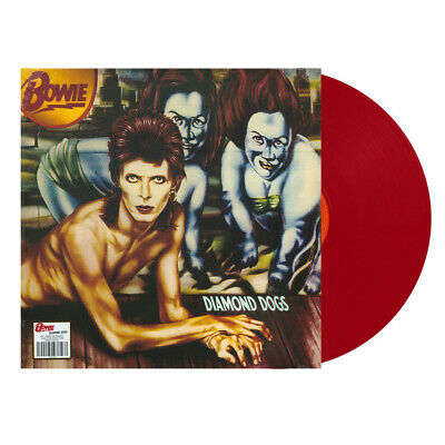 David Bowie - Diamond Dogs - Red Vinyl LP • 12.40£