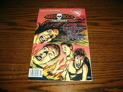 RED HOT CHILI PEPPERS - Rock-N-Roll Comic Book!!  RARE!!  1992 • 14.81£