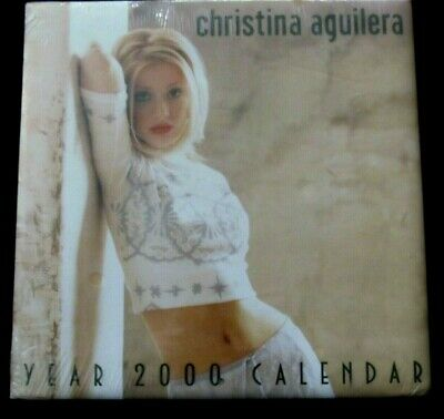Christina.Aguilera 2000 Millennium Calendar Sealed Shrink Wrap • 11.12£