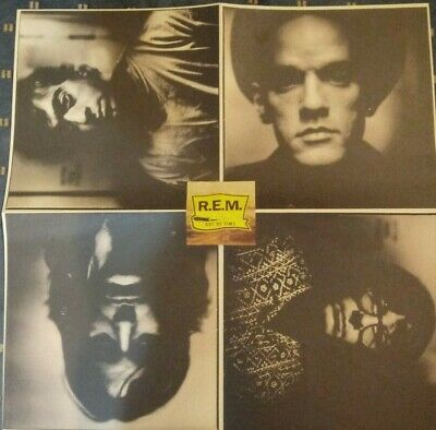 Rem Out Of Time Poster Michael Stipe Peter Buck WB Promo Poster • 2.38£