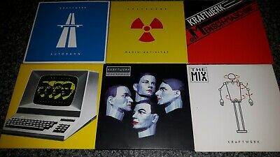 Kraftwerk CDs Incomplete Box Set Discs PLEASE READ DESCRIPTION  • 9.99£