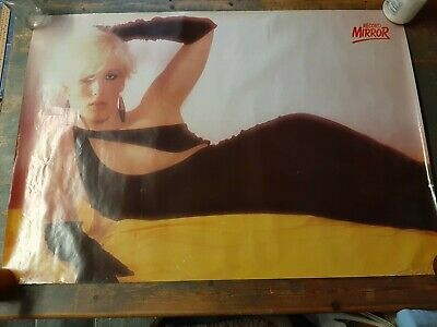 Job Lot Vintage 70s/80s Posters - Paula Yates, Blondie, Police, Grease, Abba • 80£