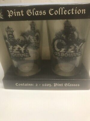 Ozzy Osbourne Pint Glass Collection • 9.58£